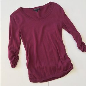 Banana Republic Ruched Pullover Sweater